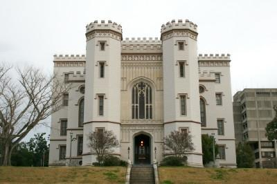 Haunted Old State Capitol Building in Baton Rouge, Louisiana