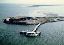 Fort Sumter Today Can Be Seen From Points All Around Charleston Harbor Before The Civil War Stood Three Tiers High